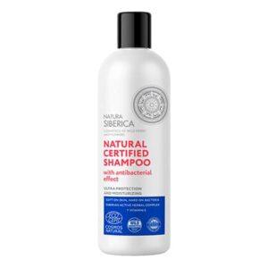 Champú natural certificado efecto Higienizante