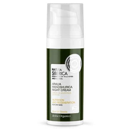 Crema de noche para piel seca Nutrición y Reparación
