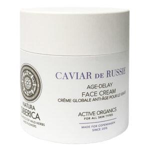 Crema facial Antiedad de caviar de Rusia