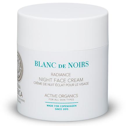 Crema de noche facial Radiance de Blanc de Noirs