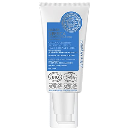 Crema de noche facial fluida Equilibrante