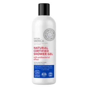 Gel de ducha natural certificado efecto Higienizante