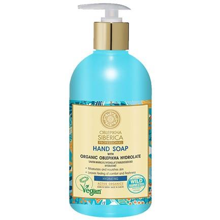 Jabón de manos Hidratante con Hidrolato de Espino Amarillo Orgánico