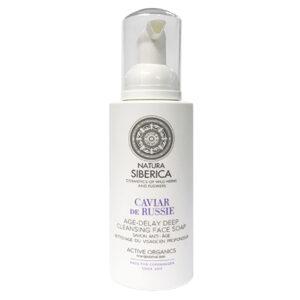 Jabón facial Limpieza profunda Antiedad de Caviar de Rusia