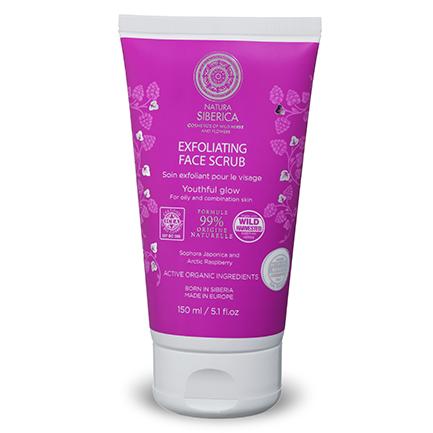 Peeling facial Exfoliante para piel grasa o mixta Brillo juvenil