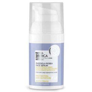 Sérum facial para piel seca o sensible Protección y Nutrición