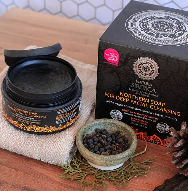 jabón negro natura siberica