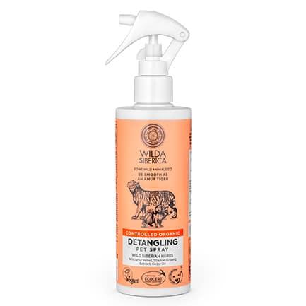 Spray desenredante para mascotas