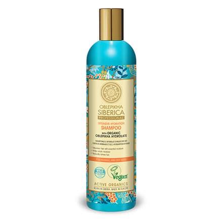 Champú de Oblepikha para cabello normal y seco